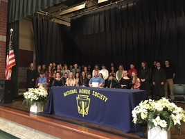 Junior High NHS Inductions
