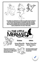 Audition Information for The Little Mermaid