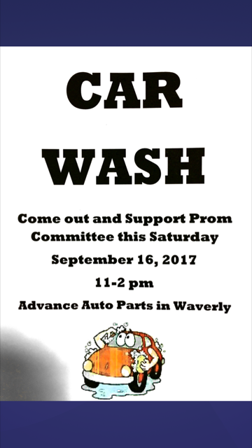 Prom Committee Carwash!!!