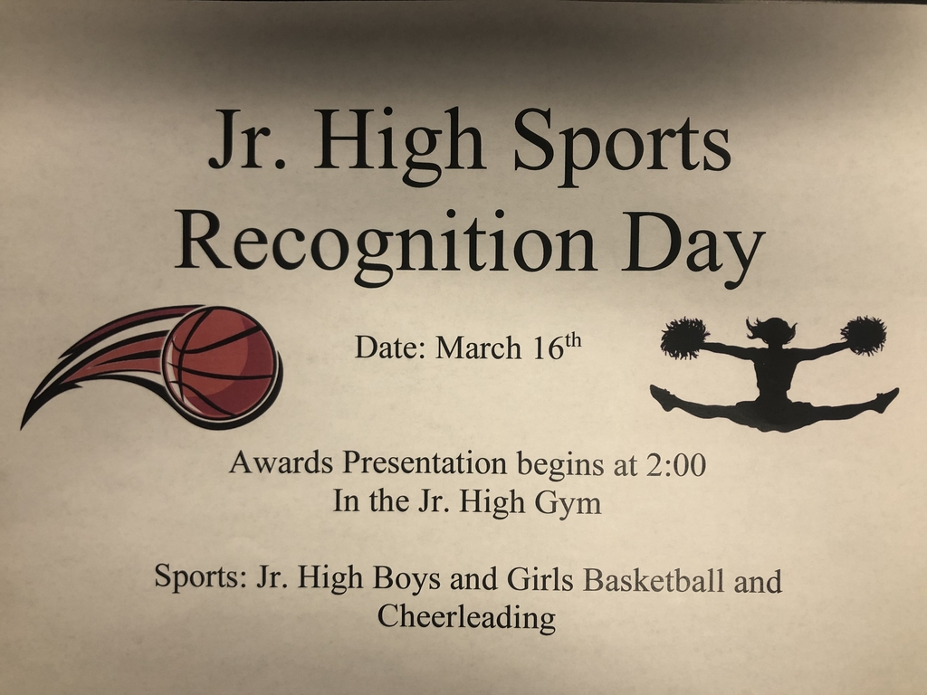 Jr high sports recognition day